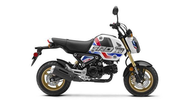 The new Grom has been introduced in special SP colour option.