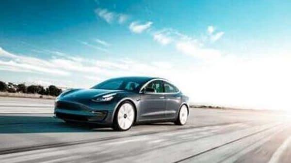 File photo: Tesla began making cars in China this year. (Tesla Model 3) (AP)
