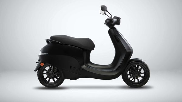 Photo of Ola e-scooter.