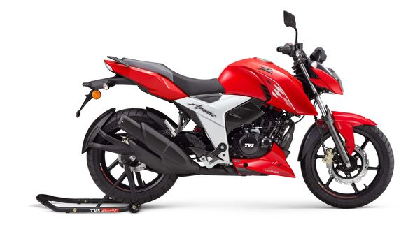 TVS Apache RTR 160 4V launched in India at a starting price of ₹1.07 lakh.