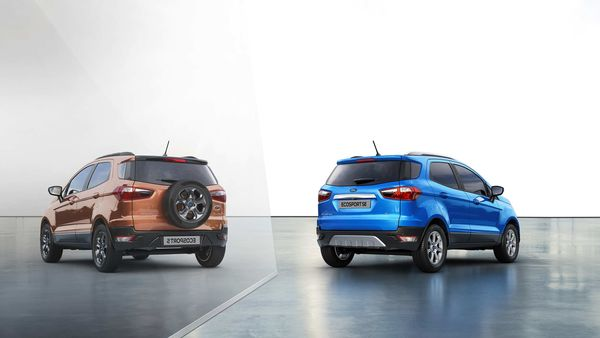 Ford EcoSport is sold in several global markets minus the rear-mounted spare wheel.