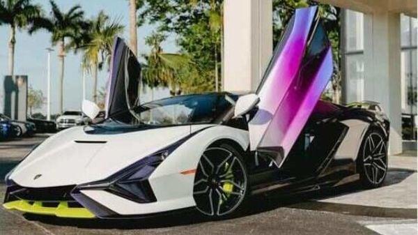 Lamborghini Sian (Pic: lamborghinibroward on Instagram)