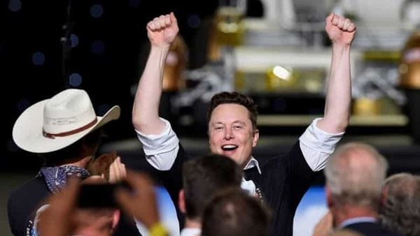 Tesla Inc.'s 20% jump on Tuesday -- its biggest in more than a year -- pushed the billionaire founder's fortune to $174 billion, (REUTERS)