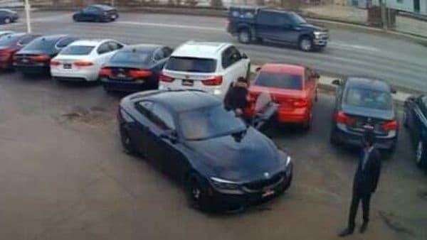 The stolen BMW M4. (Source: LPSOntario)