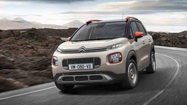 Photo of a Citroen C3 SUV, which is likely to influence the styling of the carmaker's new entry-level SUV for India.