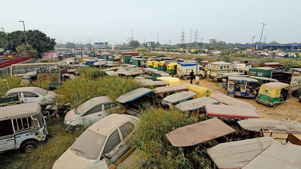 The vehicle scrappage policy will pave the way for new vehicles. (File photo) (MINT_PRINT)