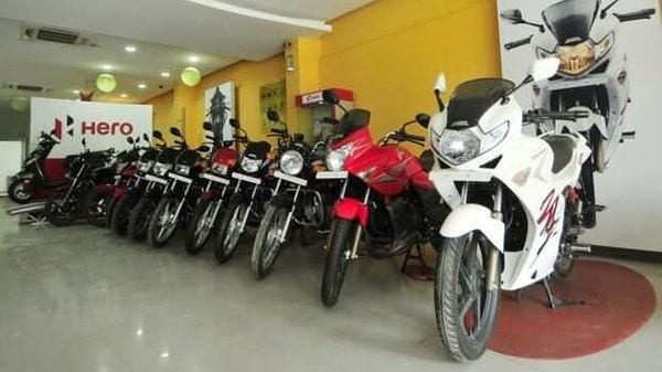 Hero MotoCorp aims to produce 7.5 million motorcycles, scooters in FY 22. (File photo)