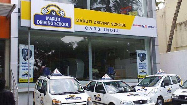 File photo of a Maruti Driving School.