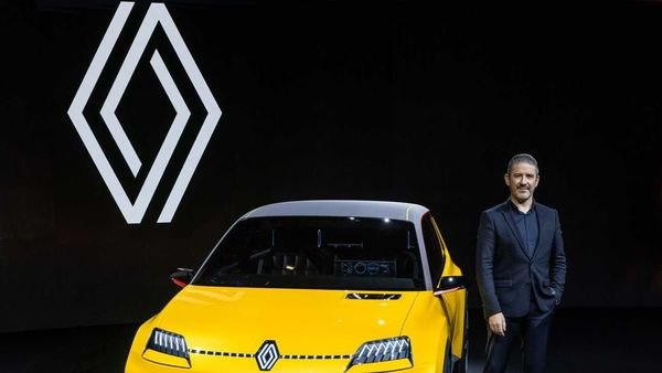 Renault's new brand logo. (Image: Renault)