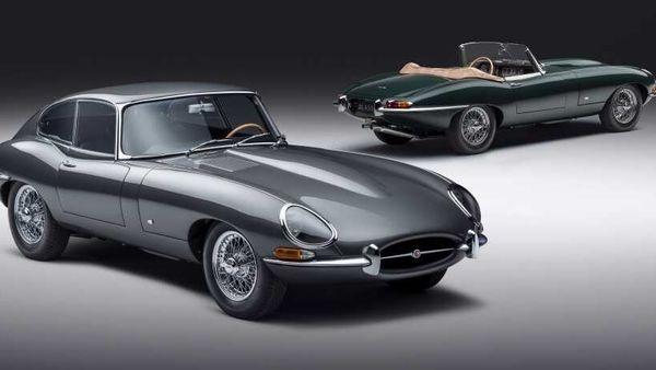 Jaguar E-type 60 Collection cars
