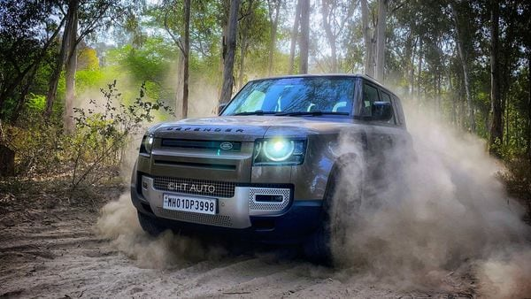 Land Rover Defender gets more powerful turbocharged petrol and diesel engines in India. (Photo credit: Anik Biswas/HT)
