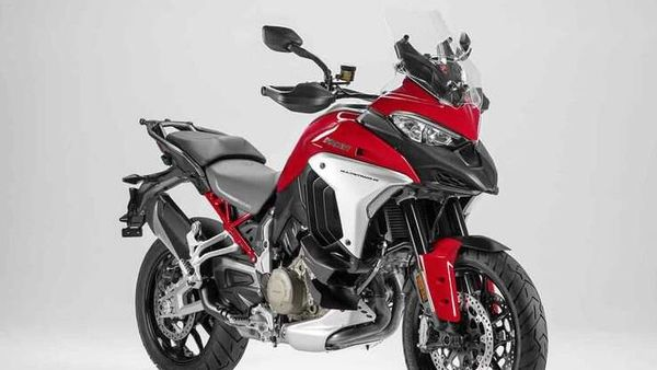 Representational image of Ducati Multistrada V4 (standard).