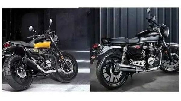 Honda CB 350 RS (left) vs H'Ness CB 350 (right)