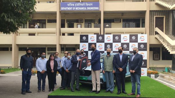 MG Motor has joined hands with IIT Delhi's Centre for Automotive Research and Tribology for research in the field of electric and autonomous vehicles.