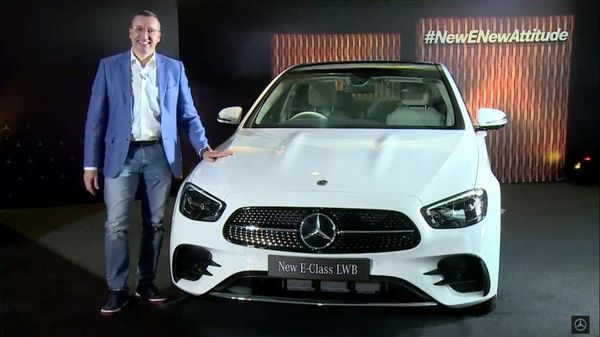 The latest Mercedes E-Class launch is part of the company's 15-model launch commitment in 2021.