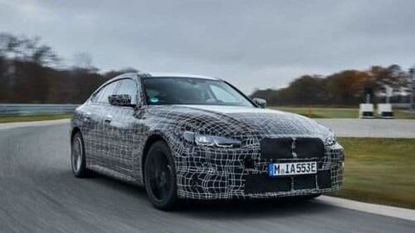BMW had showcased the concept model of the upcoming i4 electric sport sedan last year.