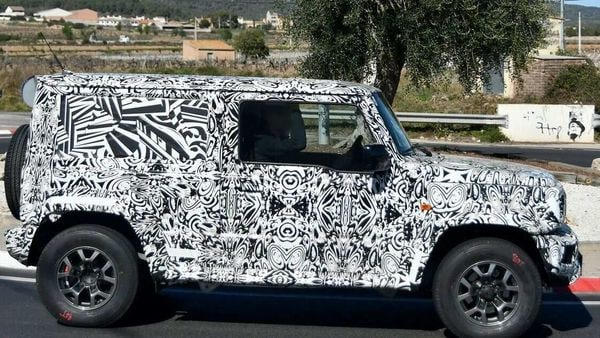 The Suzuki Jimny SUV, wrapped in a camouflage, was seen testing on European roads recently.