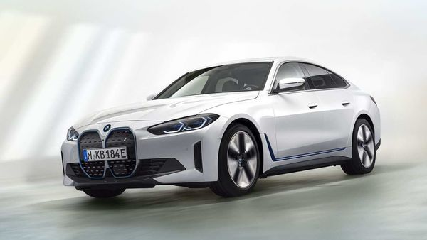 The leaked images show that the all-electric BMW i4 will not look too different from the concept version presented a year ago at the CES 2020.