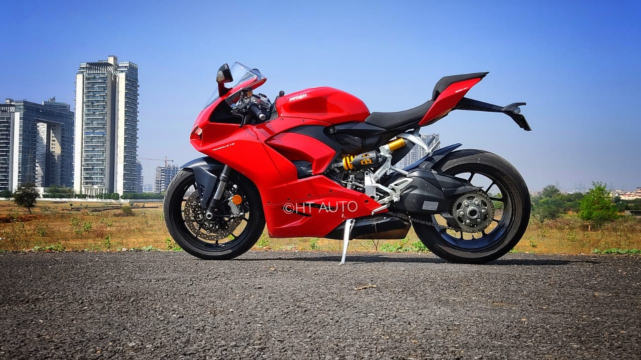Every inch on the Ducati Panigale V2 is crafted with so much thought, detailing and emotion, that it is almost poetic.