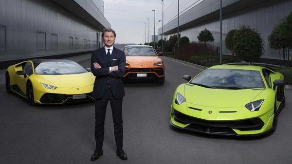 Stephan Winkelmann, President and CEO of Automobili Lamborghini.