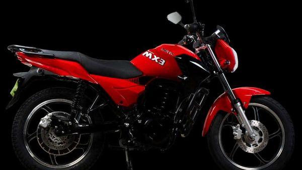 Komaki MX3 sports a claimed 85-100 km of full charge range.