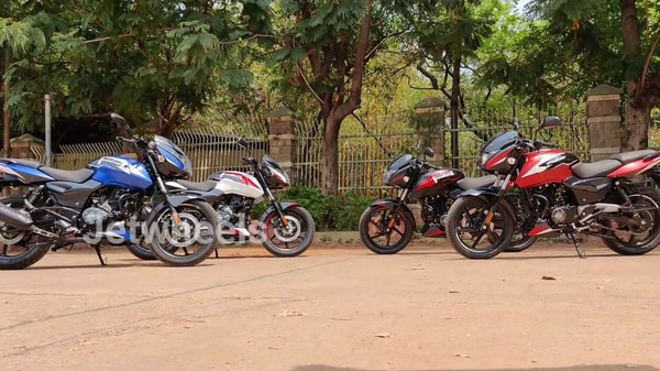 Bajaj Pulsar 150 will get four new colour options soon. (Image Credits: YouTube/Jet Wheels)