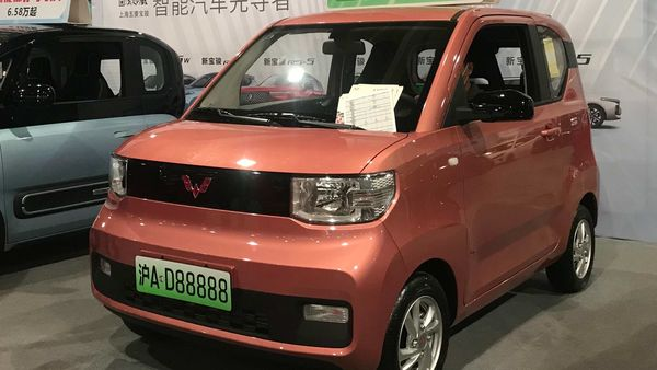 Wuling Hong Guang Mini EV is priced at just $4,500. (Source: Wikipedia)