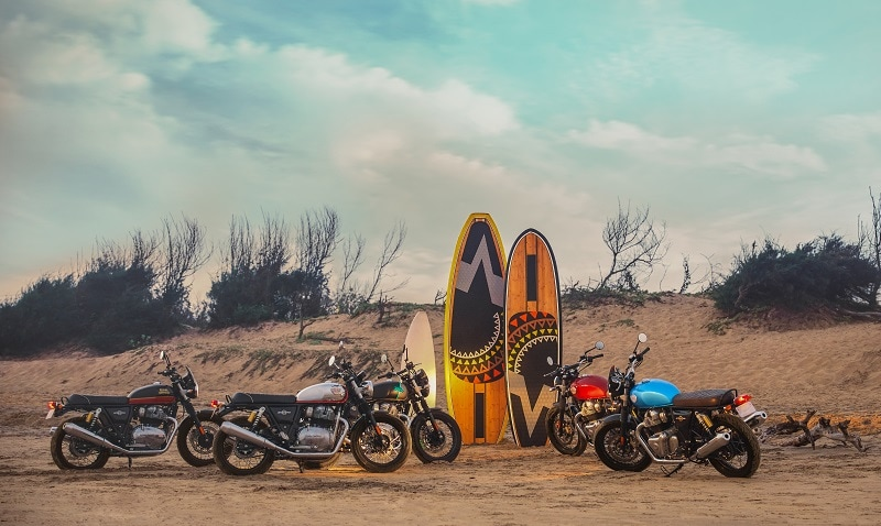 Both the new Royal Enfield 650 cc bikes will be available with a host of new MiY options which will provide customers a choice to personalise their motorcycles according to their own taste and style.