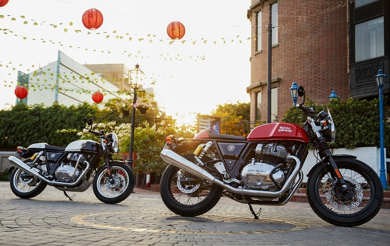 The Continental GT 650 cafe racer has been launched in five new colour options.