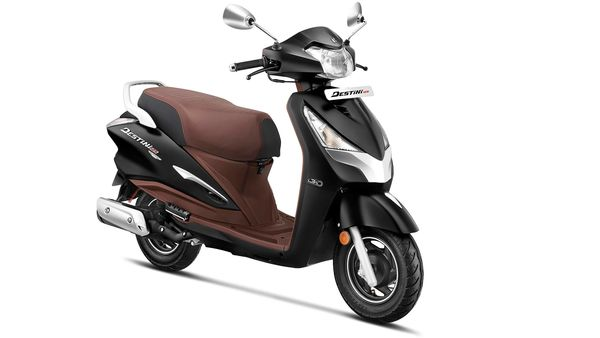 Hero Destini 125 Platinum Edition extends the diverse range of offerings in the company's two-wheeler portfolio.