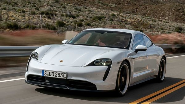 Photo of Porsche's first EV 2020 Taycan (AP)