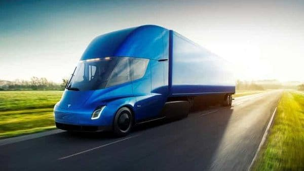 File photo - The Tesla Semi, the company's electric big-rig truck, is seen in this undated handout image released on November 16, 2017.