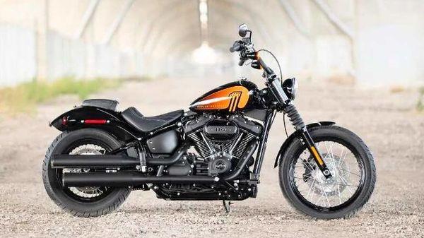 The new offer celebrates Hero's partnership with Harley-Davidson. Image: 2021 Harley Street Bob.