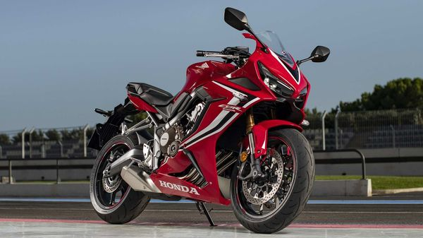The new CBR650R has arrived in India as a CBU unit.