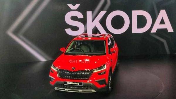 The 2021 Skoda Kushaq SUV (Photo: Prashant Singh/ HT Auto)