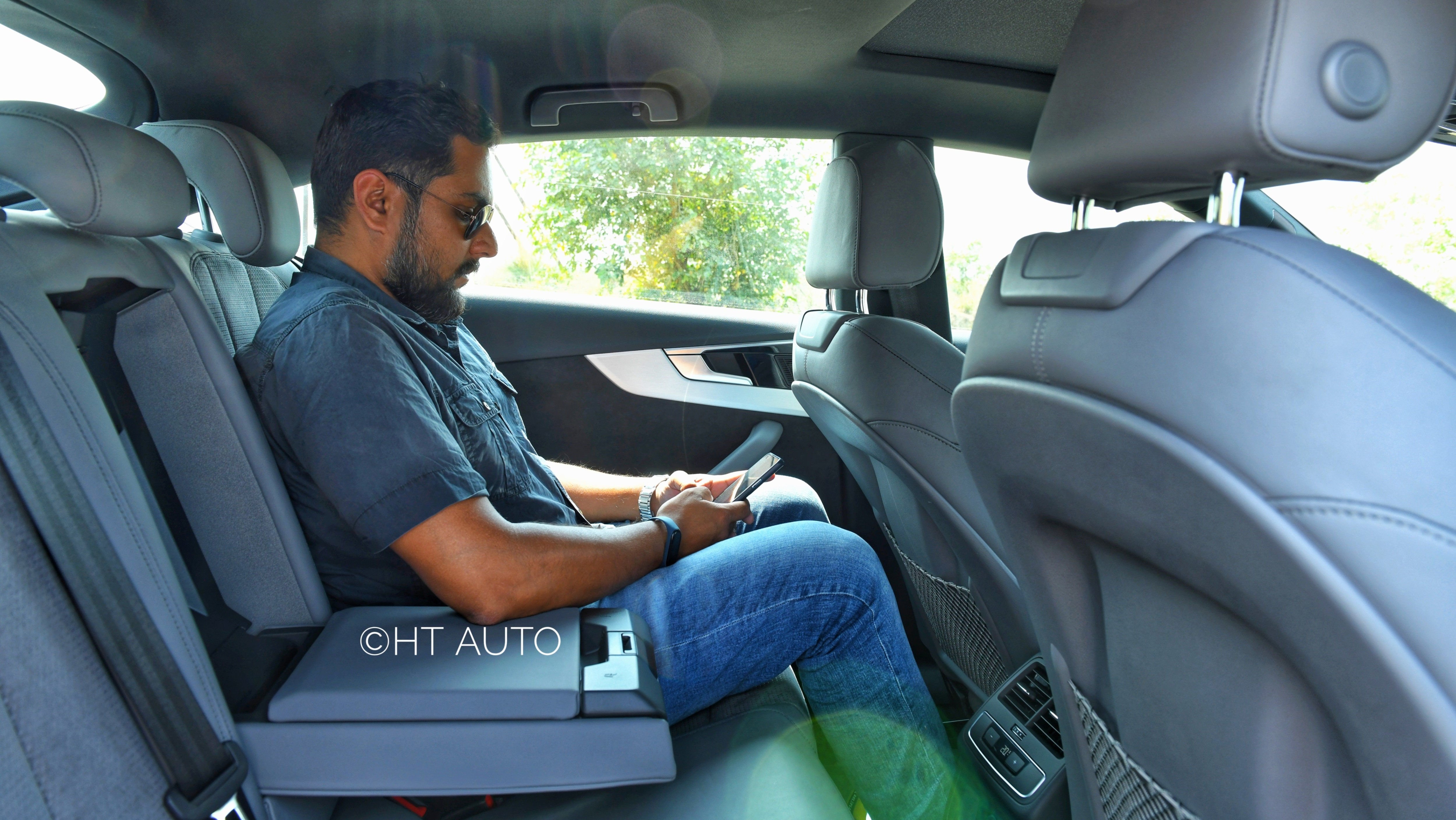 While all the seats inside the Audi S5 Sportback are well appointed and have generous cushioning, headroom and leg space at the rear may be a cause of concern for tall occupants.