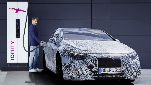 Mercedes EQS is the automaker's first EQ badged electric car that has been developed from scratch.