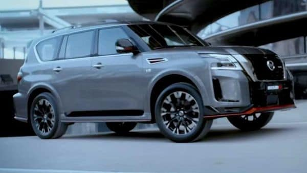The Nissan Patrol Nismo gets red styling embellishments here and there that denote its sportier bloodline out and loud.