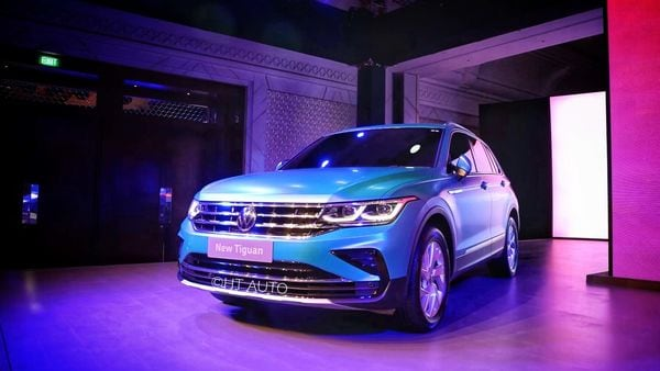 Volkswagen has unveiled the facelift version of the Tiguan SUV.