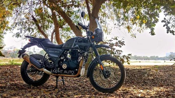 The updated 2021 Himalayan was introduced with some new features and a higher price tag which now crosses the ₹2 lakh barrier. (Image Credits: HT Auto/Prashant Singh)