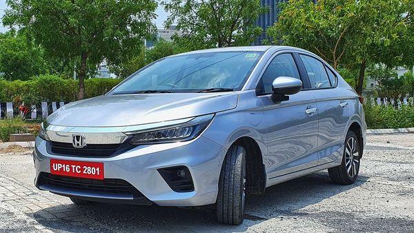 Honda City 2020 gets sharper body lines on the bonnet and on the side. (HT Auto/Sabyasachi Dasgupta)