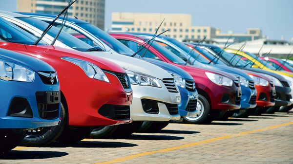 Maruti Suzuki's domestic sales declined 7.8% in the last fiscal with 1,323,396 units retailed, as compared to 1,436,124 units sold in FTY2020. (MINT_PRINT)