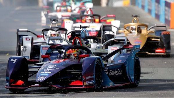 Representational File photo - A Formula E race underway in Paris in April of 2019. (REUTERS)