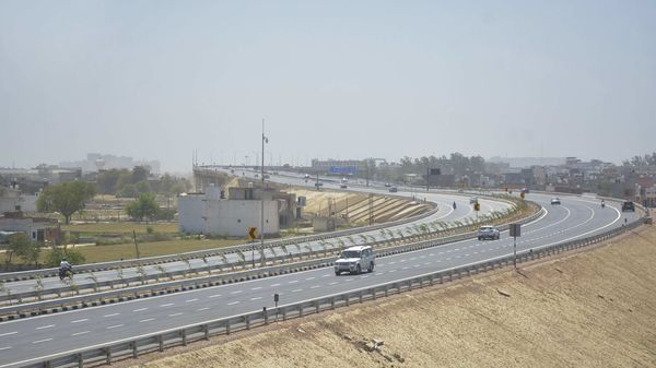 A view of the Delhi-Meerut Expressway (DME) which has been operational since April 1.