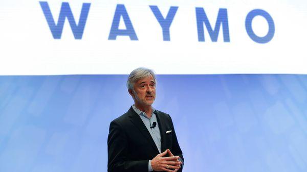 File photo of John Krafcik, CEO of Waymo. (AP)