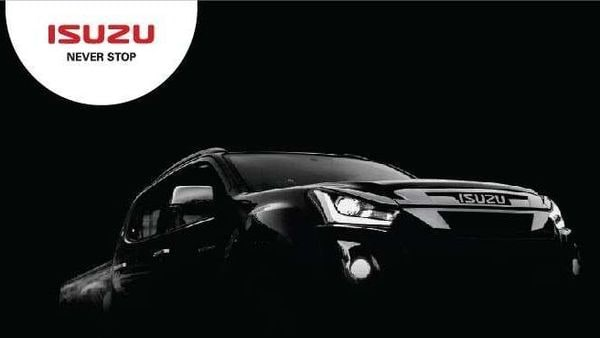 The teaser image throws light on the front fascia as well as the side body of the new Isuzu D-Max V-Cross.