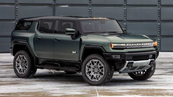 GMC has unveiled 2024 Hummer EV, an electric off-road SUV with a range of 563 kms.