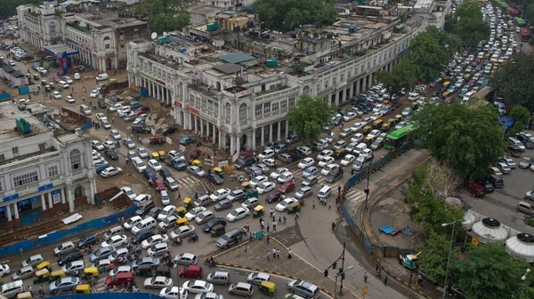 File photo of Connaught Place