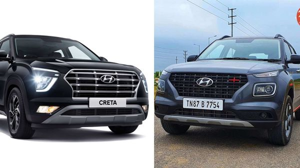 Hyundai Creta (L) and Hyundai Venue (R) are the two best-selling SUVs from the carmaker.