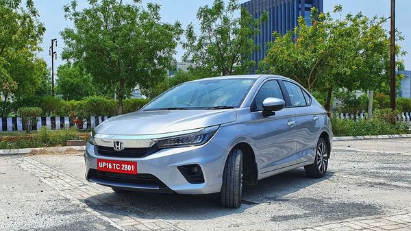 Honda City's sales in March 21 have dropped 68% on an MoM basis to 815 units, as compared to 2,524 units sold in February 2021. (HT Auto/Sabyasachi Dasgupta)